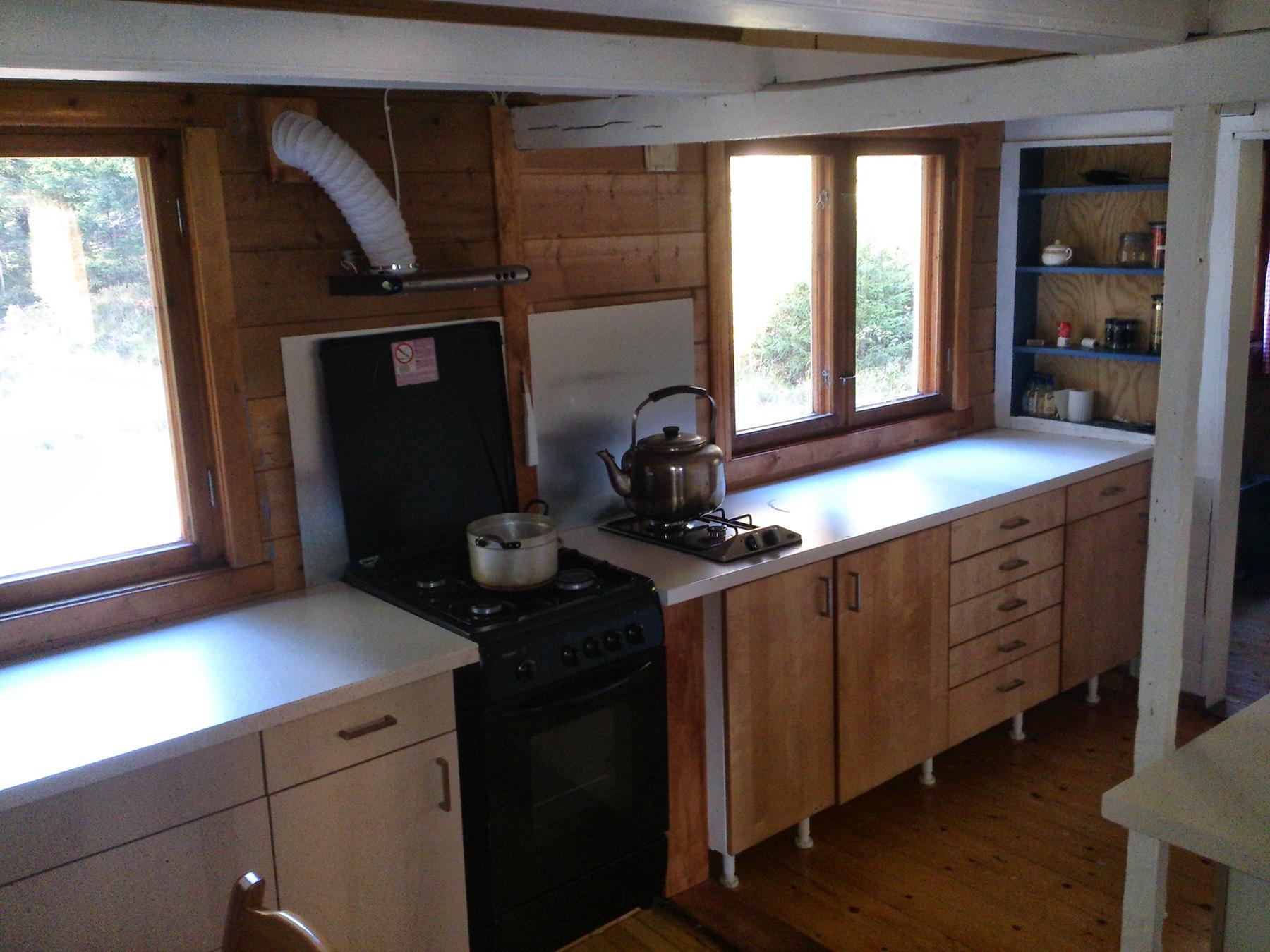 Skøyensetra – kjøkken